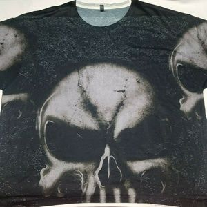 Other - 3D Skull There are alot of people Xlarge T-shirt